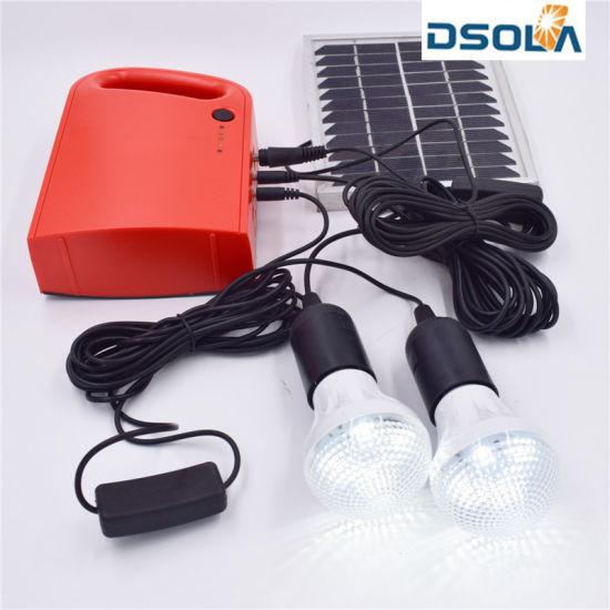 Dsola Wholesaler Custom TUV Certified Home Solar Panel Kit