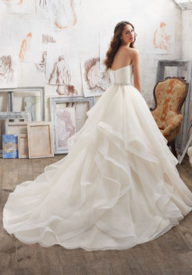 2017 Ball Gown Organza Bridal Wedding Dresses Wd504 pictures & photos