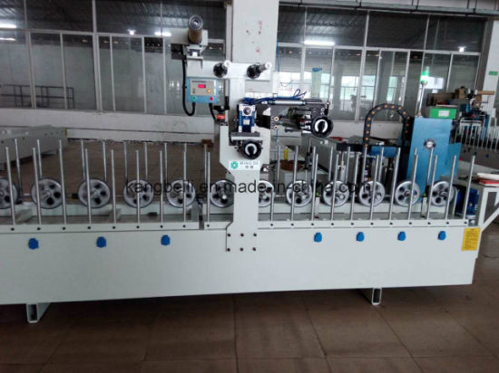 PVC Furniture Decorative Woodworking Wrapping Machine Manufatuer pictures & photos