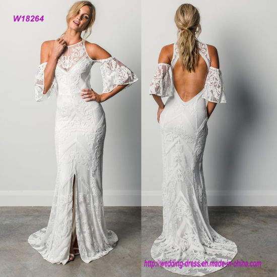 Grace Loves Lace Wedding Dress With Hollow Out Sleeves And