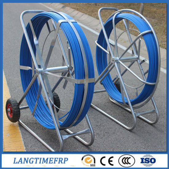 High Strength Fiberglass Duct Rodder with Wheels pictures & photos