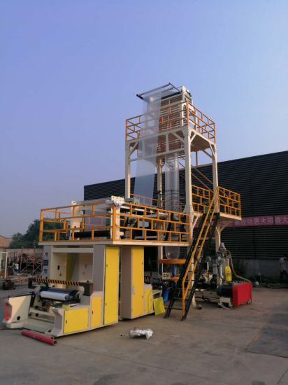 ABC Co-Extrusion Three Layers Film Blowing Machine China