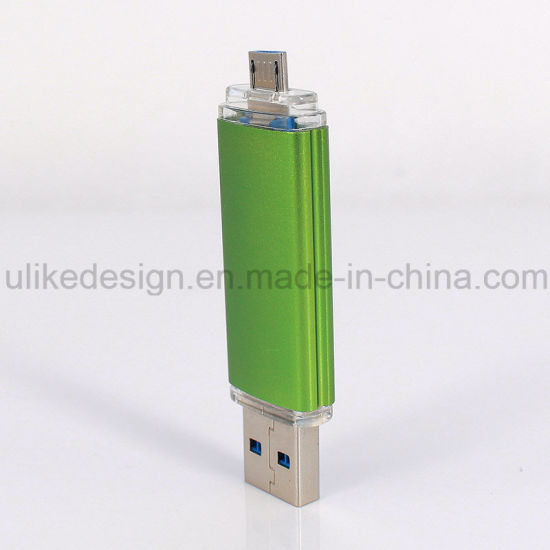 3.0 Metal OTG USB Flash Disk High Quanlity Classic Packing (3.0 UL-OTGP02) pictures & photos