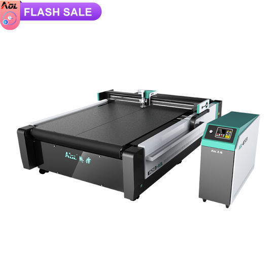 Hot Sale CNC Vibration Knife Cloth/ Artificial / Genuine / Fish Leather Fabric Cutting Machine for Sale