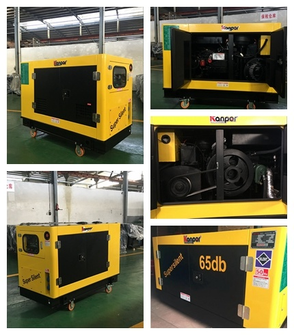 15kw New Canopy Type Quanchai Super Silent Type Diesel Generator pictures & photos