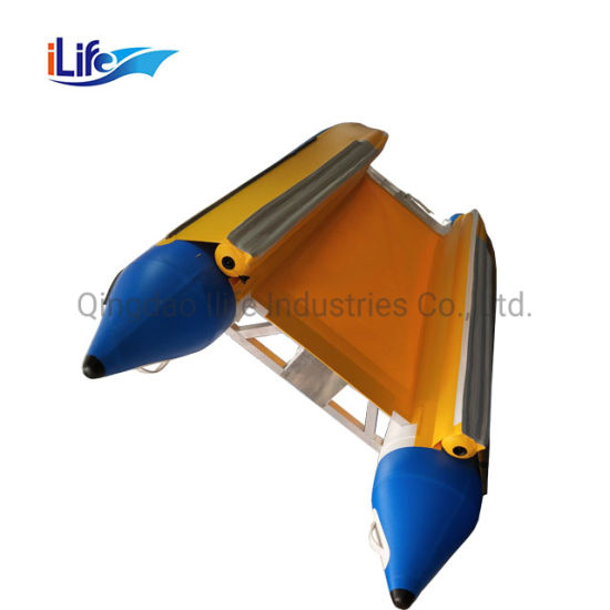 Ilife Catamaran Passenger Ferry Boat 4.1m Superior Quality PVC/Hypalon Inflatable Catamaran Boat
