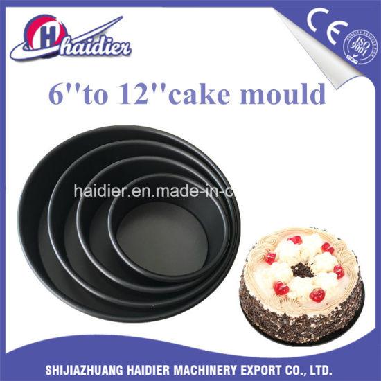 Set of 6 Non-Stick Springform Cake Tins