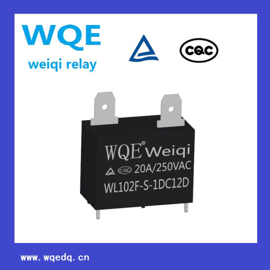 Miniature Size PCB Relay 20A 250VAC Power Relay Suit for Household Appliances &Industrial