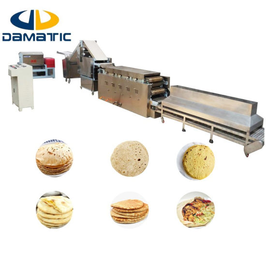 1000 to 2000 Pieces Per Hour Fully Automatic Tortilla Production Line for Sale