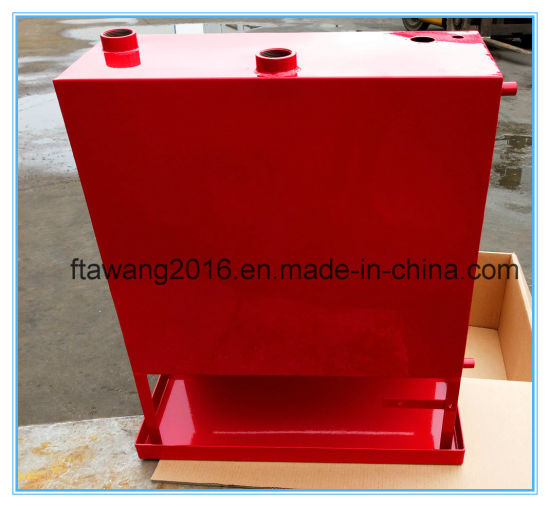 Powder Coated Red Fuel Tank Oil Can Steel Enclosurer