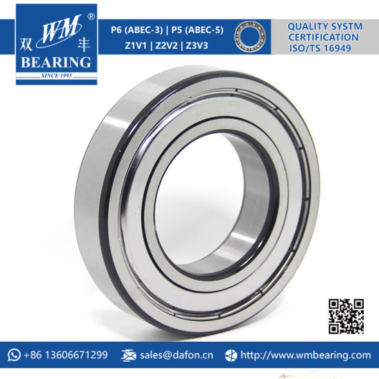 6209 2RS Zz Emq Electric Motor Deep Groove Ball Bearing pictures & photos