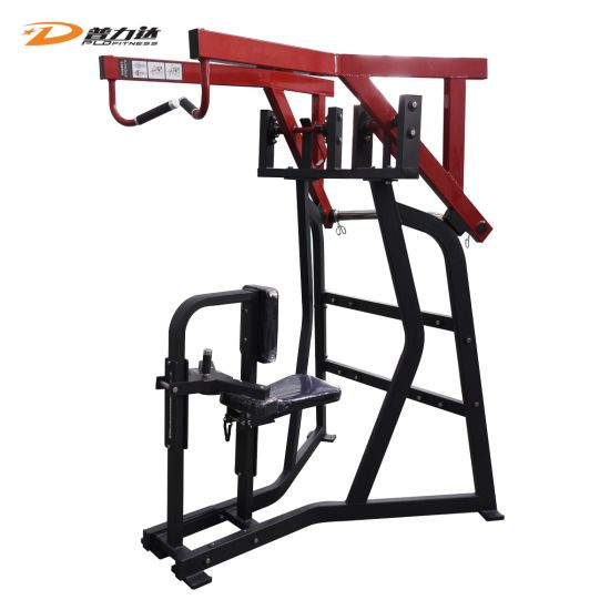 Commercial Gym Use Plate Loaded Sports Hammer Strength High Row Machine