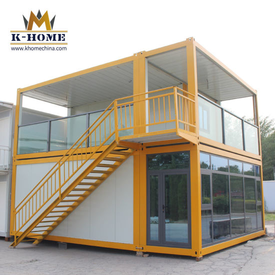Flat Pack Prefabricated Office Container for Building Site pictures & photos