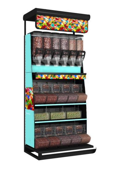 High Quality Candy Display Shelves