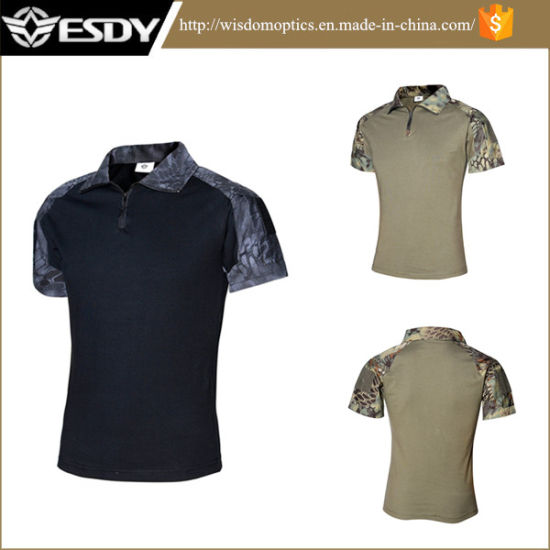 Army Design T Shirt | China Military Army Python Camouflage Airsoft Tactical T Shirt New