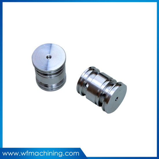 High Strength Auto Milling Black Anodized Piston/CNC Machining Turning Aluminum Part