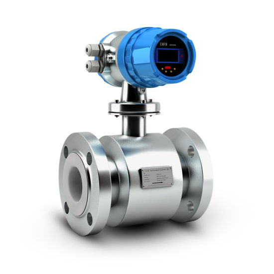 Stainless Steel Flange Type Electromagnetic Water Flow Meter Digital Price pictures & photos