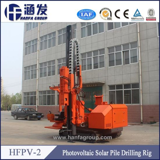 Solar Farm Hydraulic Pile Driver for PV Installation pictures & photos