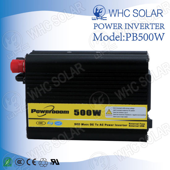 12V 500W Solar Power Sine Wave High Frequency Inverter pictures & photos