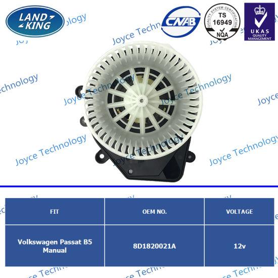 Factory Automobiles Car Electric Blower Fan Motor OE: 8d1820021A for Volkswagen Passat B5 Manual