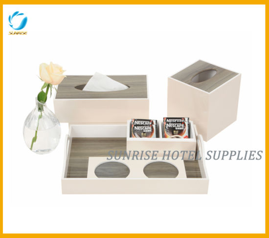 Hotel Amenities Holders Bathroom Amenities Acrylic Set pictures & photos