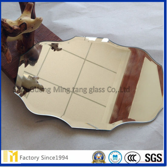 Safety Polished Kinds Shape Silver Mirror Dressing Mirror for Living Room