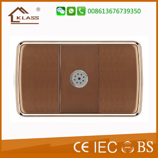 Coffee Painting Color Voice Control Light Switch