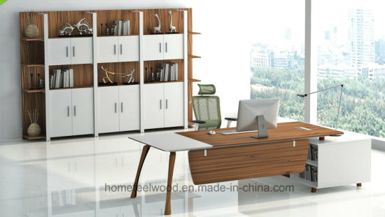 Wood Furniture High Tech Desk Executive Table Office Used (HF JO2020)