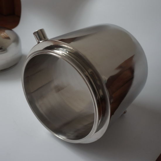 Stainless Steel Triclamp Spool 12X6 Jacketed Base