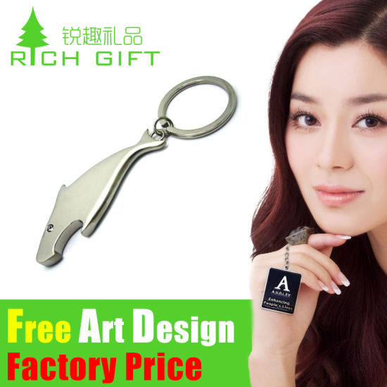 Custom Factory Directly Price Dolphin Key Chain Promotional Keyring pictures & photos