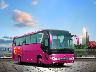 Sunlong Slk6108A6n Natural Gas Passenger Bus pictures & photos