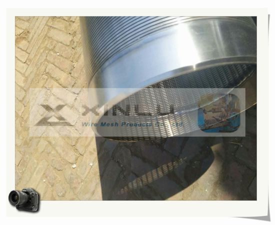 Wedge Wire Wrap Water Well Screen pictures & photos