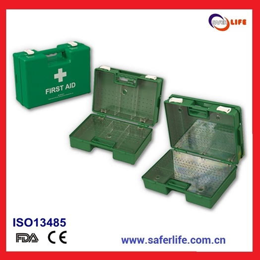 2019 Wholesale Ce FDA ISO ABS Hospital Medical Emergency Medical Empty First Aid Kit with Fixing Brackets