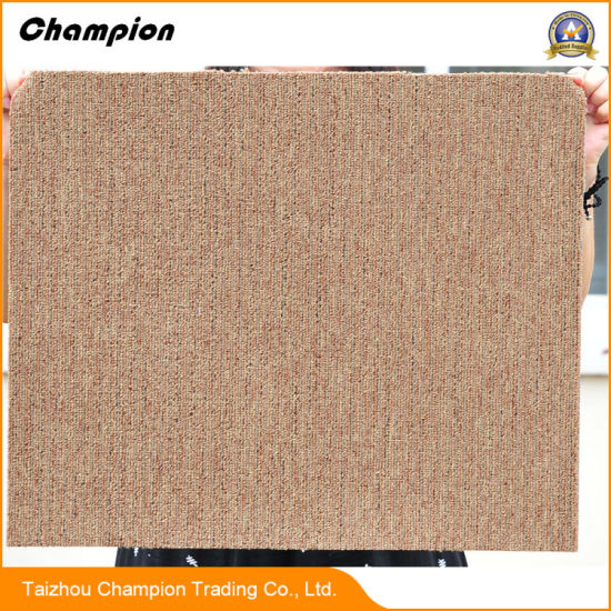 Dl DIY Soundproof Removable Office Floor Carpet Tile; New Design 100% PP  Yarn Portable Fireproof Exhibition Floor Commercial Carpet Tile From  Chinese ...