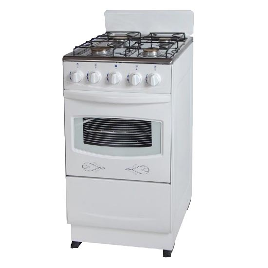 High Quality Free Standing Gas Cooker in Oven