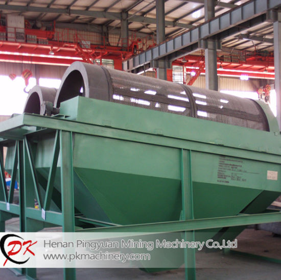 Screening Machine Mining Machinery Trommel Vibrating Sieve Screen for Sale