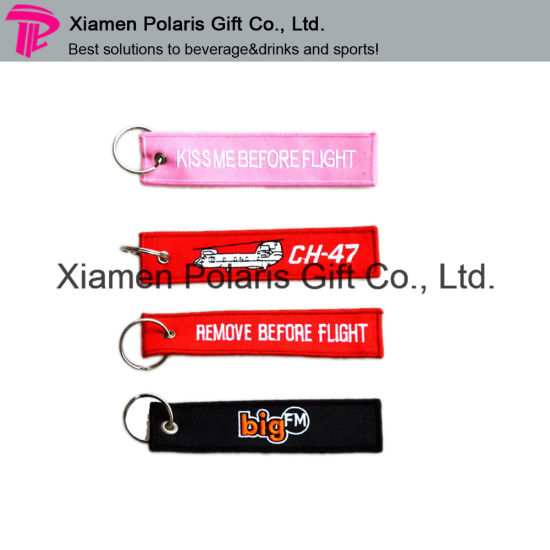 Personalized Design Embroidery Patch Keyring
