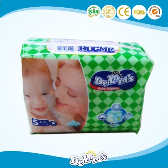 American Fluff Pulp Disposable Baby Diaper pictures & photos