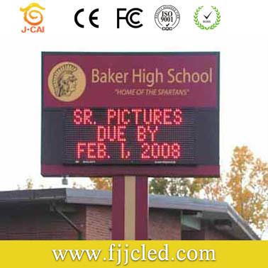 Outdoor Full Color LED Display Board pictures & photos