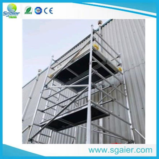 China Hot Sale Scaffolding / Aluminum Scaffold /Frame Scaffolding ...