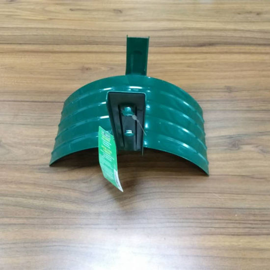 Green Metal Garden Hose Holder Hanger