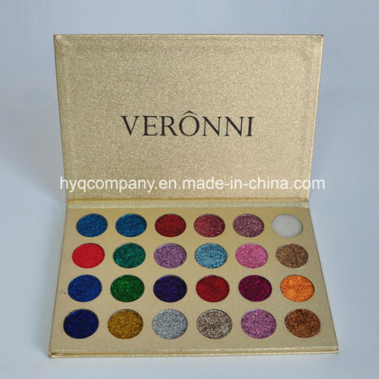 Hot Sales Veronni 24colors Glitter Powder Eyeshadow Palette pictures & photos