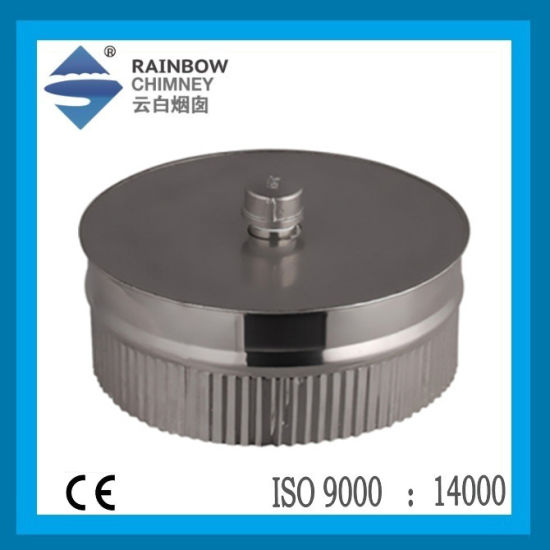 Ce Spigot Lock Tee Plug with Drain Chimney Pipe