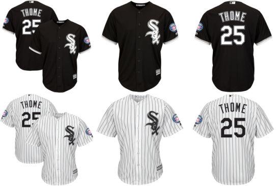 China American League Chicago White Sox Jim Thome Baseball Jerseys ...