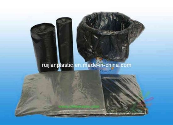 Hot Sales Factory Price Heavy Duty Plastic PE Garbage Bags pictures & photos