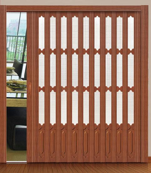 PVC Folding Door New Design For Bedroom, Bathroom