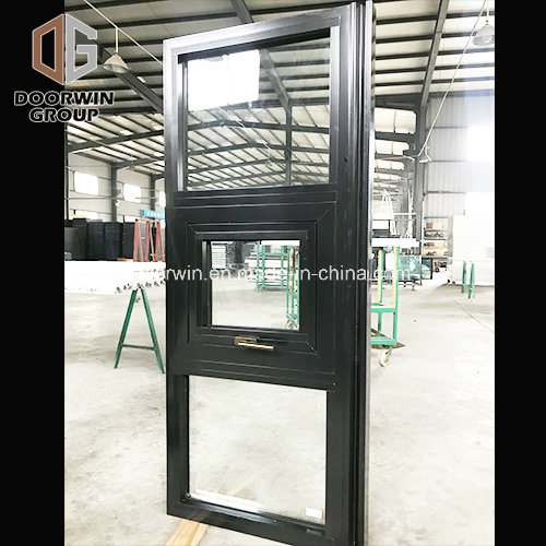 Thermal Break Aluminum Awning Window and Outside-Swing Window Germany Hardware, Trustworthy Window