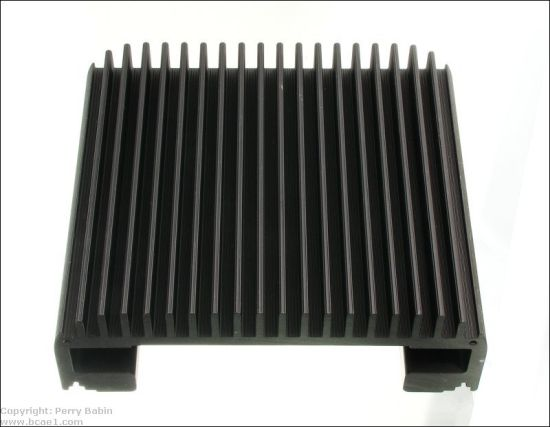 High Precision CNC Machining Aluminum Heat Sinks for Amplifier Products pictures & photos
