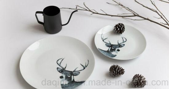Round S&le Elk Household 2 Pieces Dinnerware Set & China Round Sample Elk Household 2 Pieces Dinnerware Set - China ...