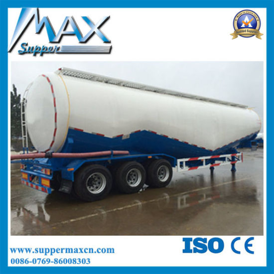 Powder Material Transport Semi Trailer /Bulk Cement Tank Truck Trailer pictures & photos